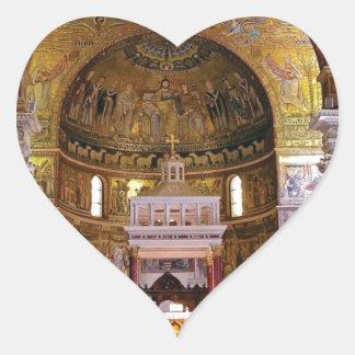 Sticker Cœur À l'intérieur de l'église ouais