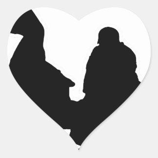 Sticker Cœur AÏE KIDO - Jeux de Mots - Francois Ville