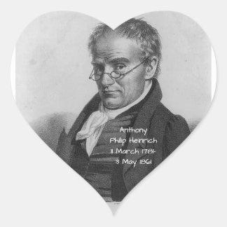 Sticker Cœur Anthony Philip Heinrich