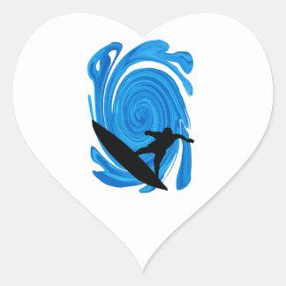 Sticker Cœur Augmentation de francs-tireurs