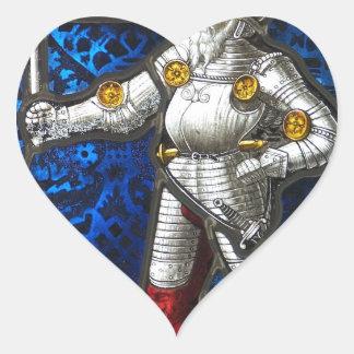 Sticker Cœur chevalier #3
