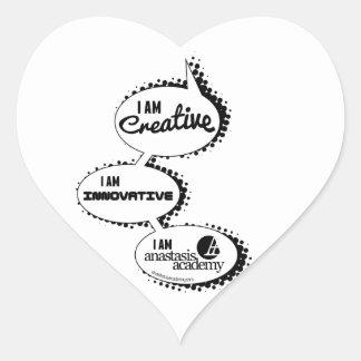 """Sticker Cœur Conception de """"entretien"""" d'Anastasis"""