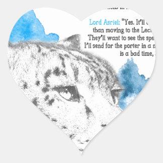 Sticker Cœur Démon de Stelmaria - d'Asriel de son matériel