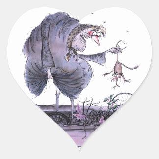 Sticker Cœur furet de mA d'ol de Yorkshire d'amour