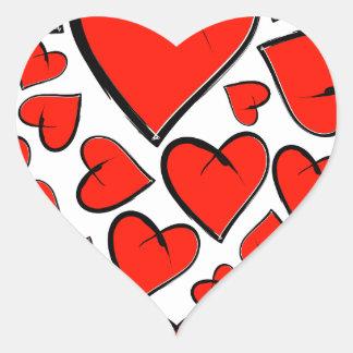 Sticker Cœur Heartinella - coeurs de vol