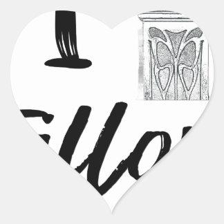 Sticker Cœur I (horloge) Fillory