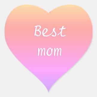 Sticker Cœur La meilleure maman Emoji