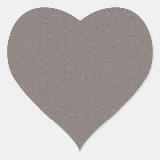 Sticker Cœur Le blanc de modèle ajoutent votre gris élégant des