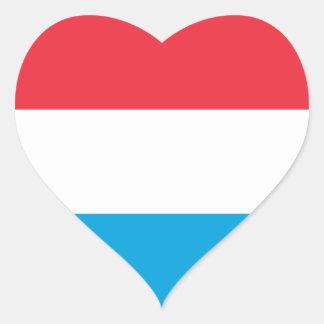 Sticker Cœur Le Luxembourg DIMINUENT
