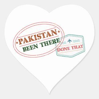 Sticker Cœur Le Pakistan là fait cela