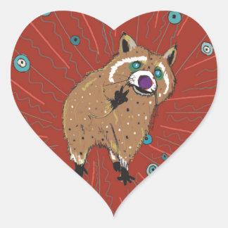 Sticker Cœur Lotti de la hippie