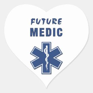 Sticker Cœur Médecin d'avenir d'infirmier