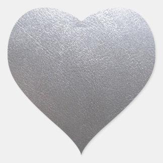 Sticker Cœur MODÈLE en cuir d'étincelle : Ajoutez le texte,