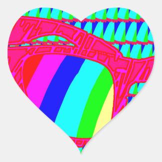 Sticker Cœur N'oubliez pas d'oublier