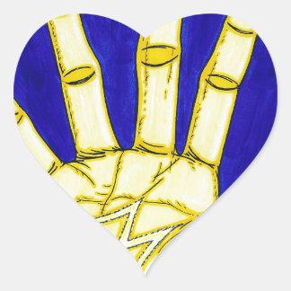 Sticker Cœur Personnes de M