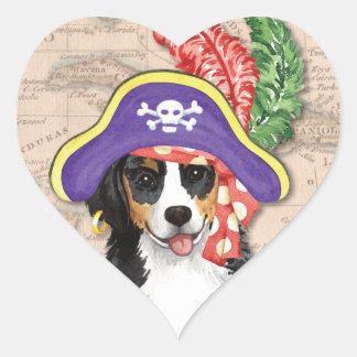 Sticker Cœur Pirate de Berner