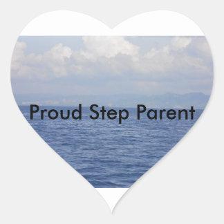 Sticker Cœur Pour les familles mélangées