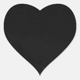 Sticker Cœur Routes foncées et aventures de nuit