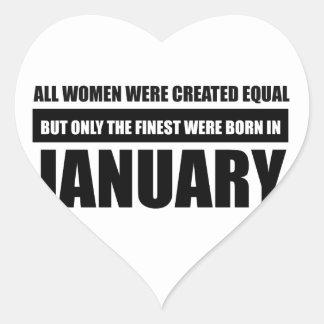 Sticker Cœur Toutes les femmes étaient des conceptions égales