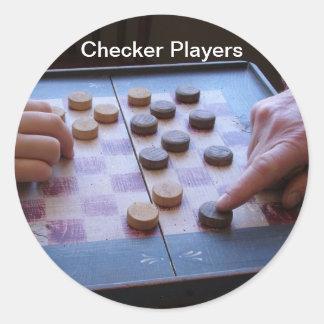 Sticker/Controleurs Ronde Sticker