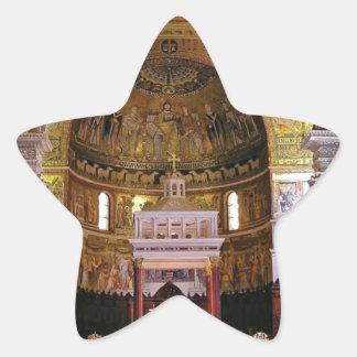 Sticker Étoile À l'intérieur de l'église ouais