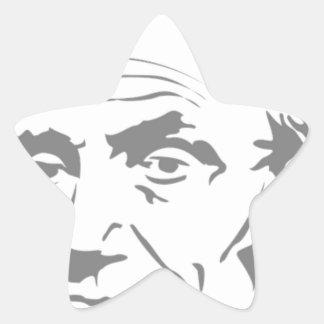 Sticker Étoile Abraham Lincoln