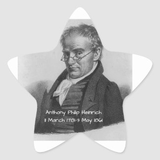 Sticker Étoile Anthony Philip Heinrich