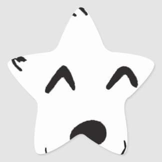 Sticker Étoile Baby dog
