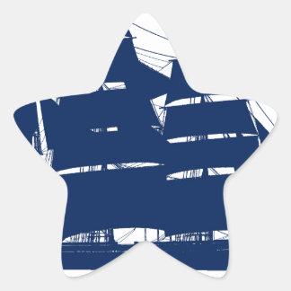 Sticker Étoile baleinier élégant Charles Morgan de fernandes