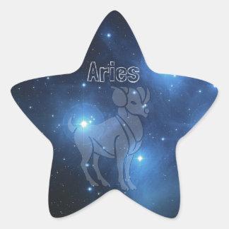 Sticker Étoile Bélier