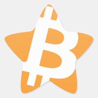 Sticker Étoile Bitcoin