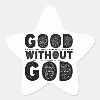 Sticker Étoile Bon sans Dieu