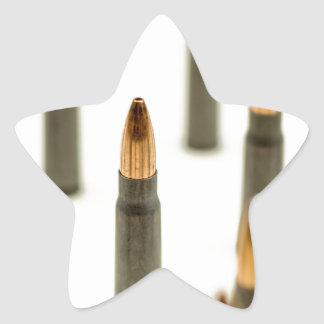 Sticker Étoile Cartouche 7.62x39 d'AK47 de balle de munitions