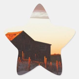 Sticker Étoile Chambre au coucher du soleil - 1