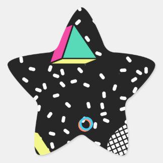 Sticker Étoile déplacez-vous à Memphis