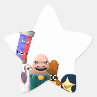 Sticker Étoile Détectives superbes de Jr. de fureteurs