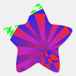 Sticker Étoile Dimensions pliées par Kenneth Yoncich