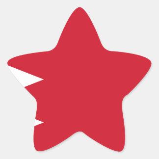Sticker Étoile Drapeau du Bahrain