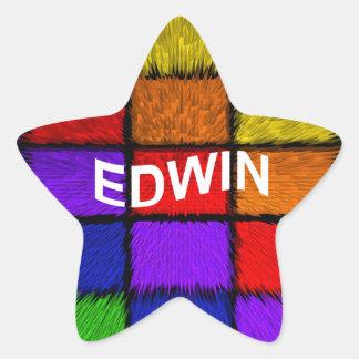 STICKER ÉTOILE EDWIN