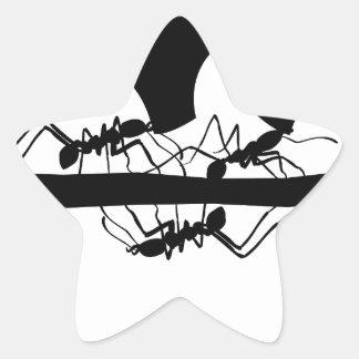 Sticker Étoile Fourmis de Leafcutter