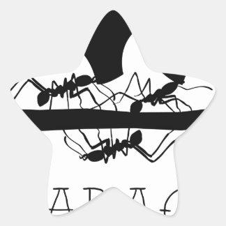 Sticker Étoile Fourmis Nicaragua de Leafcutter
