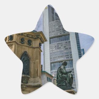 Sticker Étoile Horizon de Francfort