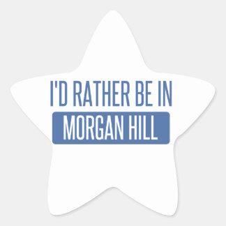 Sticker Étoile Je serais plutôt en colline de Morgan