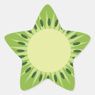 Sticker Étoile kiwis