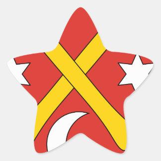 Sticker Étoile La Slovaquie #2