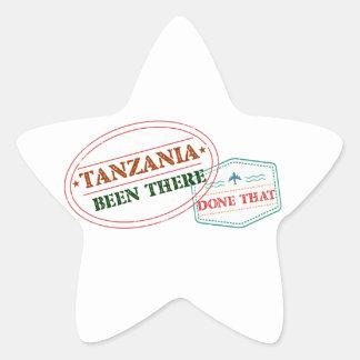 Sticker Étoile La Tanzanie là fait cela