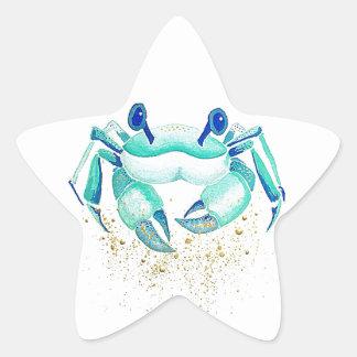 Sticker Étoile Le crabe de Neptune