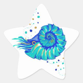 Sticker Étoile Le Nautilus de Neptune