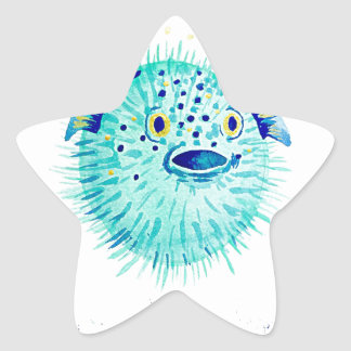 Sticker Étoile Les Pufferfish de Neptune