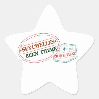 Sticker Étoile Les Seychelles là fait cela
